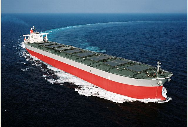 Suezmax supertanker